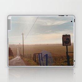 Tsunami Warning Zone-Film Camera Laptop & iPad Skin