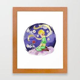 La plus belle Framed Art Print