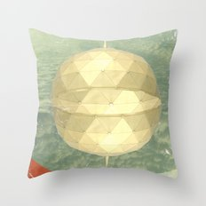 Space Dome Throw Pillow