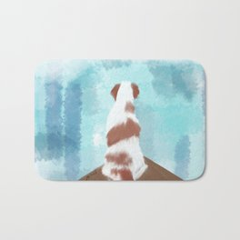 Deschutes The Brittany Spaniel Bath Mat