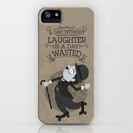 Chaplin iPhone Case