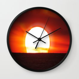 Ring Around The Sun Wall Clock