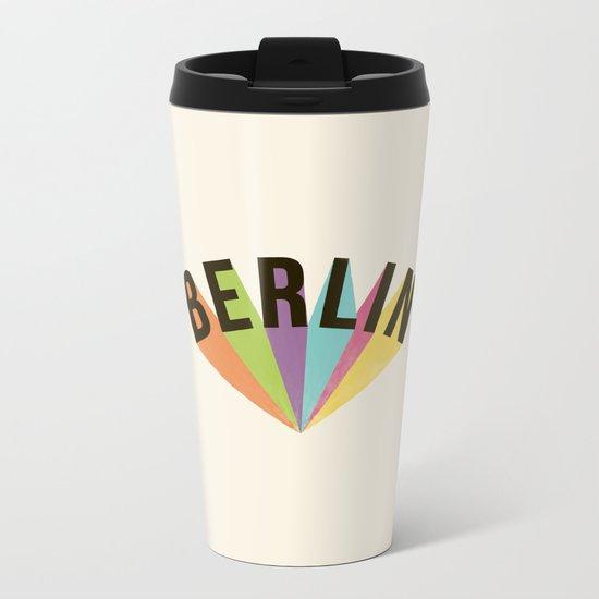 Letters : Berlin Metal Travel Mug