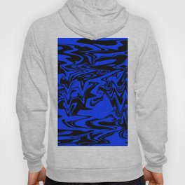 blue and shadow Hoody
