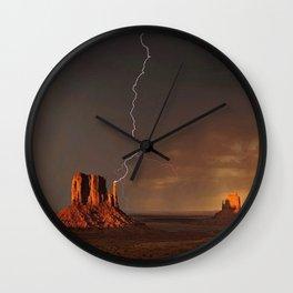 Monument Valley, Utah No. 3 Wall Clock