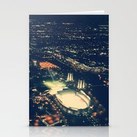 ohio state Stationery Cards featuring Ohio State by Alisha Williams