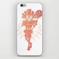 majoras mask iPhone & iPod Skins featuring Majora's Mask Joker by Haus of Xosé
