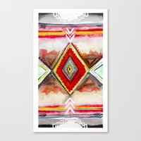 kilim Canvas Prints featuring Kilim by Fitz Farm