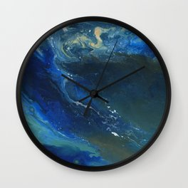 Ocean Crest Wall Clock