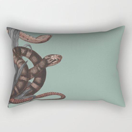 Snakes (animals collection) Rectangular Pillow