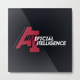 AI - Artificial Intelligence Metal Print