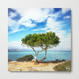 Tree view  Metal Print