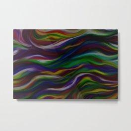 Dark Rainbow Metal Print