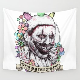 xoxo Twisty (color) Wall Tapestry