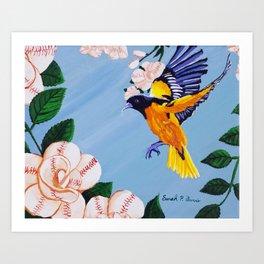 Bird of Camden Art Print