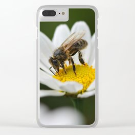 I regret I am not a bee... Clear iPhone Case