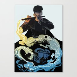 Wit Canvas Print
