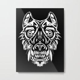 Mandrill tiger Metal Print