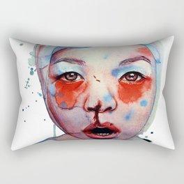 Red, White & May Rectangular Pillow