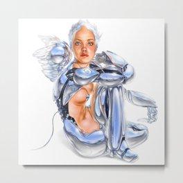 Cyber-angel Metal Print