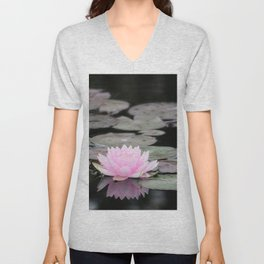 The Lily Pad Unisex V-Neck
