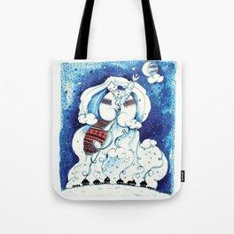 Winter Illustration Tote Bag