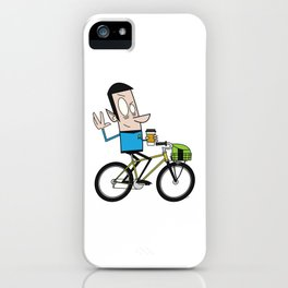 Coffee Spock iPhone Case