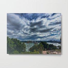 Tree Tops To Sydney Harbour Metal Print