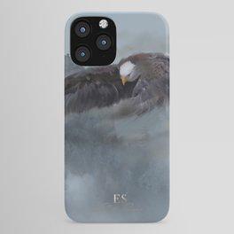 """Mother Eagle"" -Inspirational Digital Art  iPhone Case"