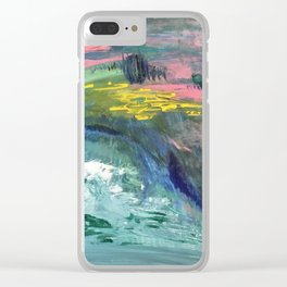 Wave Soul Clear iPhone Case