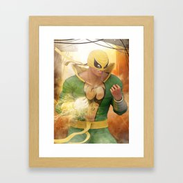 Iron Fist Framed Art Print