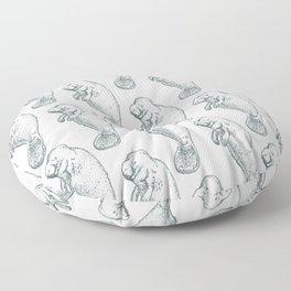 Manatee Floor Pillow
