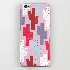 Sweet cactus pattern iPhone & iPod Skin
