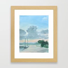 Bayfront - Hamilton Framed Art Print