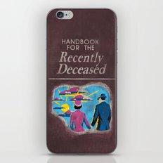 Beetlejuice - Handbook for the recently deceased iPhone & iPod Skin