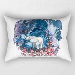 Elephant Totem Rectangular Pillow