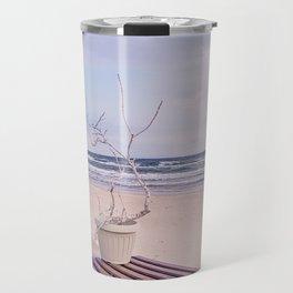 Winter On The Seaside Travel Mug