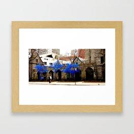 Blue Trees - Chicago Framed Art Print
