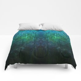 Abstract Fantasy Woods V3 Comforters