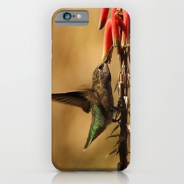 One Moment At Time iPhone Case