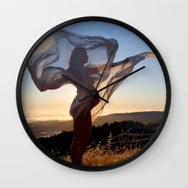 The Dawning of a New Life Wall Clock