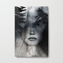 Complete absence of sound Metal Print