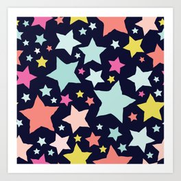 All About the Stars - Style G Art Print
