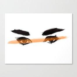 Audrey's eyes 2 Canvas Print
