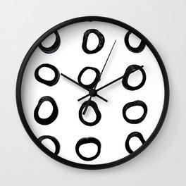 Scandinavian Licorice Wall Clock