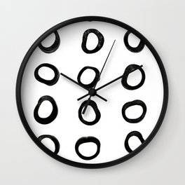 Scandinavian Licorice Wall Clock