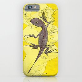 Frank the Lizard iPhone Case