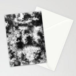 Black and White Tie Dye & Batik Stationery Cards