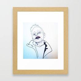 A R Framed Art Print