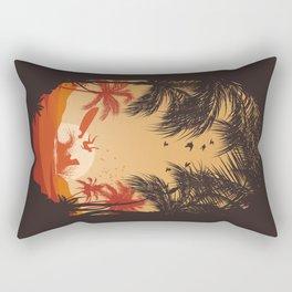Summertime Madness Rectangular Pillow
